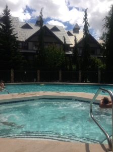 swiming pool northstar stoney creek whistler